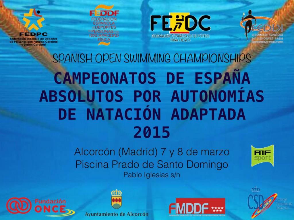 Campeonato de España Absoluto de Natación adaptada