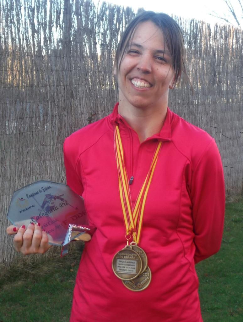 Raquel Martinez abonada al oro