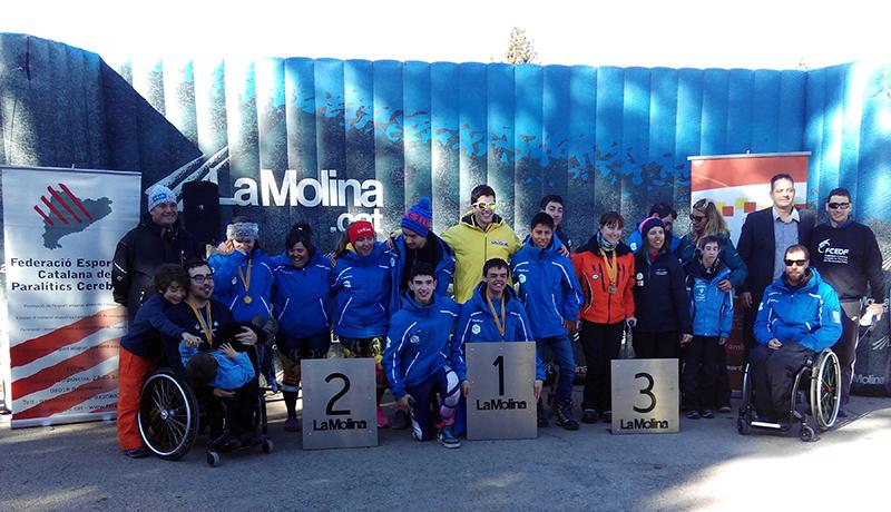 Copa de España 2016 La Molina - Los deportistas participantes los protagonistas por encima de todo