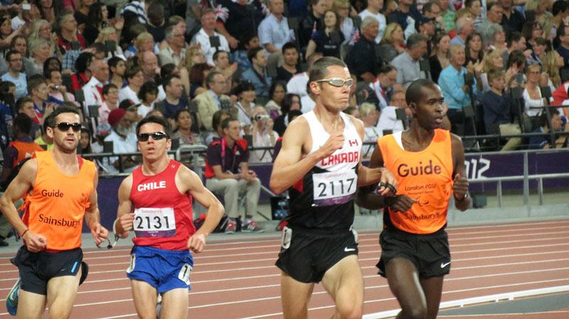 Corredores Paralímpicos - Juegos Paralímpicos Río 2016