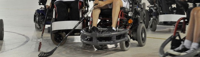 Powerchair Hockey