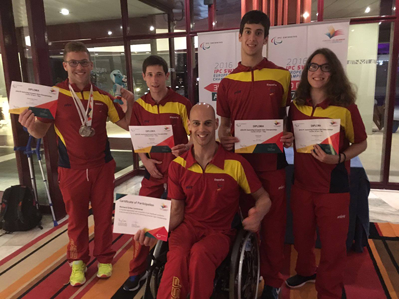 Resultados del Europeo de Funchal - Blog Noticias FEDPC - Nuestro equipo al completo al finalizar la Competición