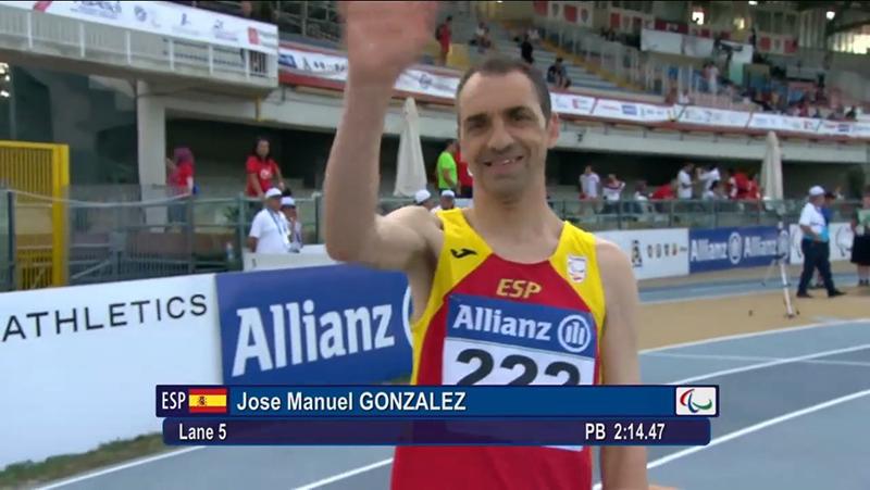 José Manuel González - Atletismo Grosseto 2016