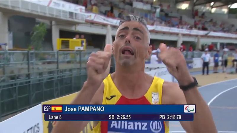 José Pampano - Atletismo Grosseto 2016