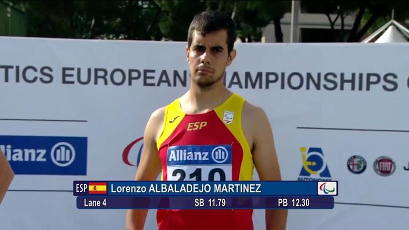 Lorenzo Albaladejo - Atletismo Grosseto 2016