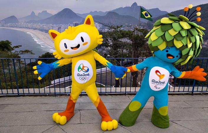 Mascotas de Río 2016