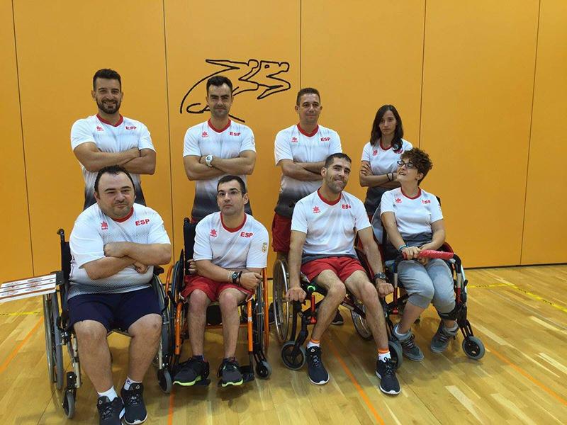 Boccia en Río 2016 - Blog FEDPC - El equipo en la concentración previa