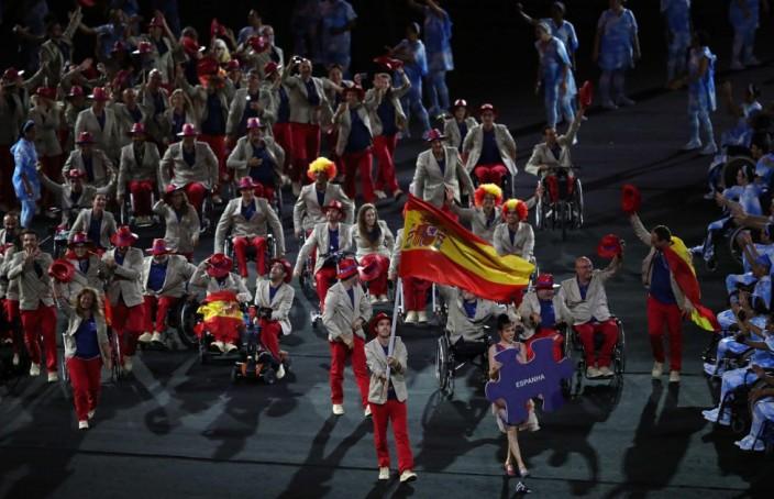 Juegos Paralímpicos 2016 Delegación Española - Imagen de Marcelo Sayão (EFE)