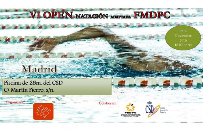 Campeonato de Madrid Open Natación Adaptada