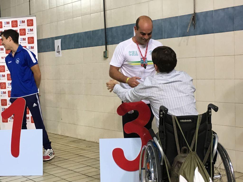 Sexta edición del Open de natación adaptada de Madrid
