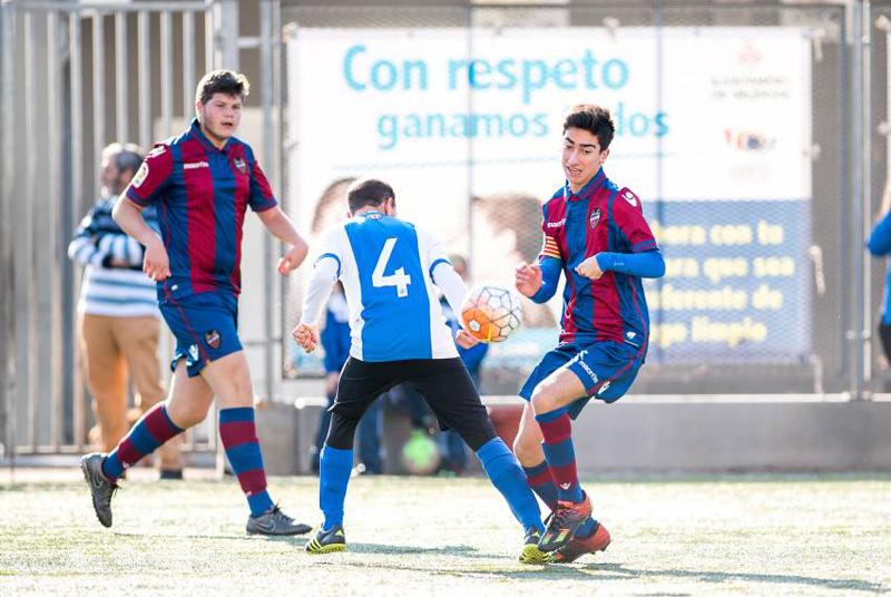 Levante UD Paralimpico versus Hercules CF - Fútbol 7 FEDPC