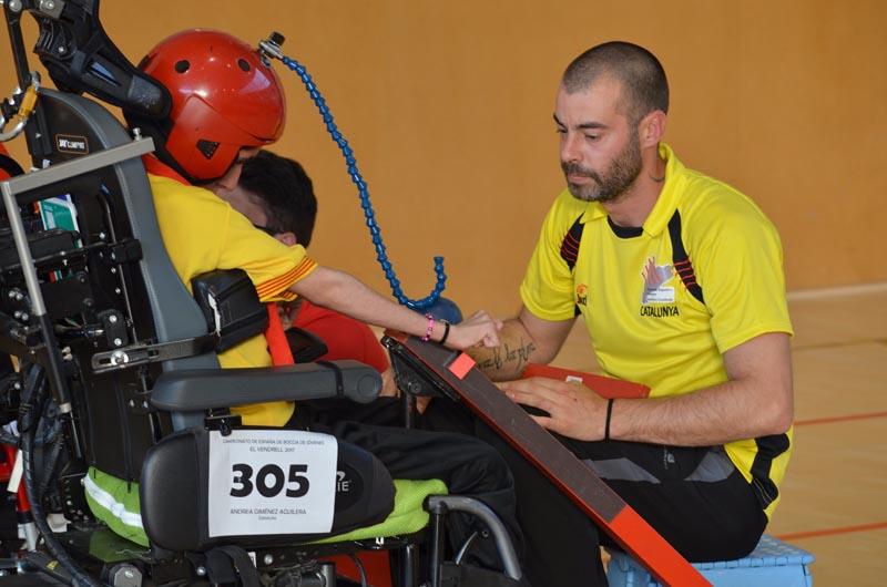 Boccia Jóvenes - FEDPC - Competición