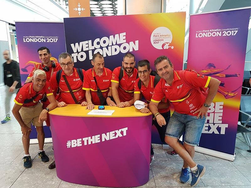 Combinado del Campeonato del Mundo de Atletismo Londres 2017 - FEDPC
